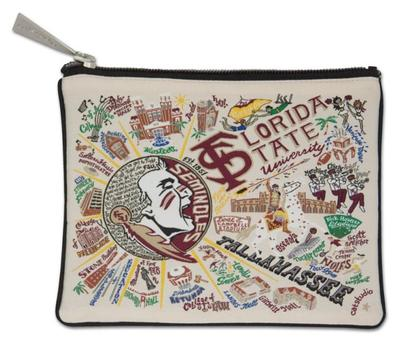 Florida State Catstudio Woven Pouch