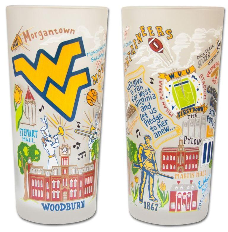West Virginia College Town Glass