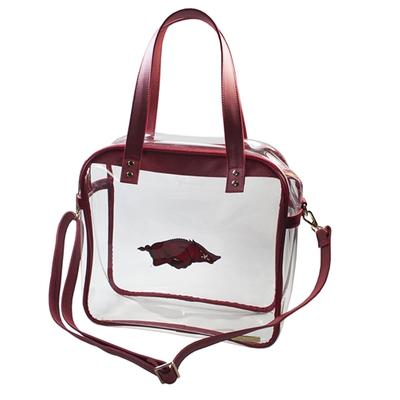 Arkansas Clear Carryall Tote