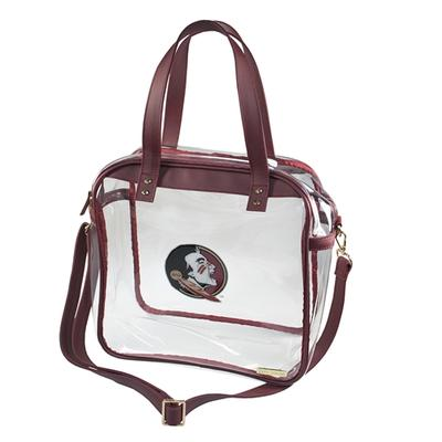 Florida State Clear Carryall Tote