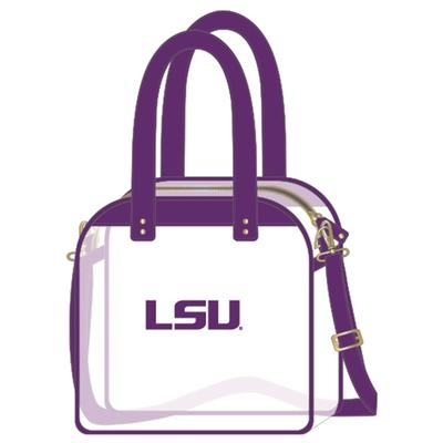 LSU Clear Carryall Tote