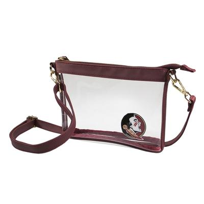 Florida State Game Day Clear Crossbody Bag