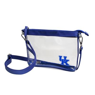 Kentucky Game Day Clear Crossbody Bag