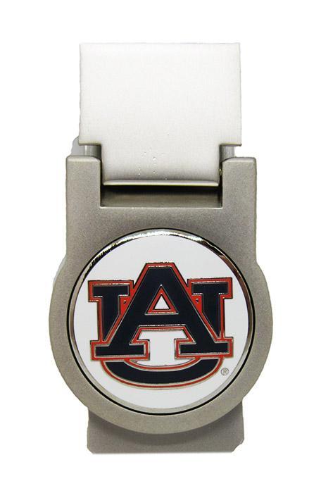 Auburn Nickel Money Clip