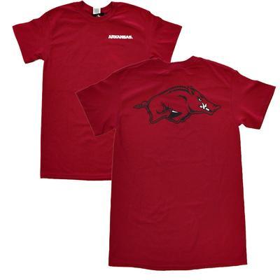 Arkansas Running Hog Logo Tee