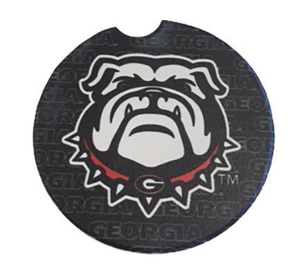 Georgia Logo Car Coaster