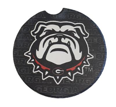 Georgia Logo Car Coaster