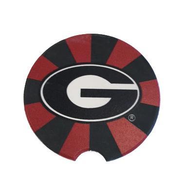 Georgia Power G Logo Car Coaster