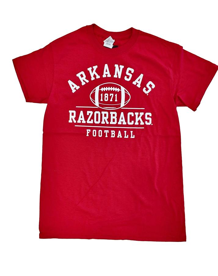 Arkansas Retro 1871 Football T- Shirt