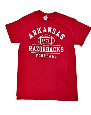 Arkansas Retro 1871 Football T-Shirt
