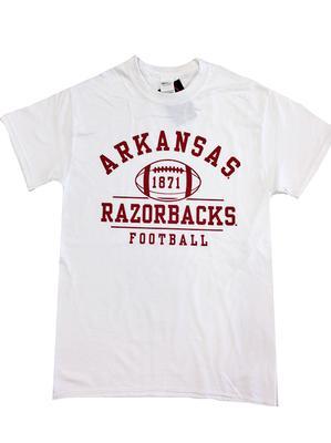 Arkansas Retro 1871 Football T-Shirt WHITE