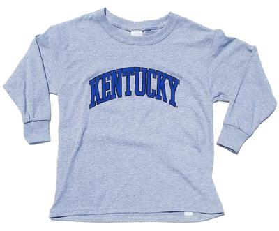 Kentucky Youth Long Sleeve Arch T-Shirt