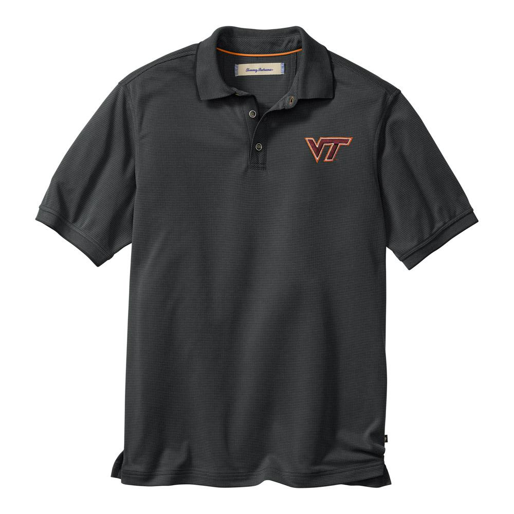Virginia Tech Tommy Bahama All Square Core Polo