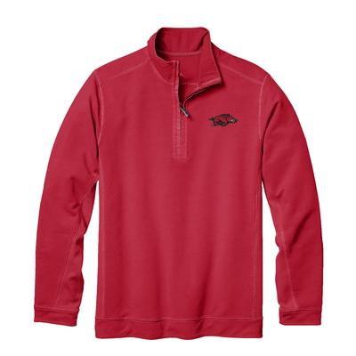 Arkansas Tommy Bahama Ben & Terry Coast Core Half Zip Pullover