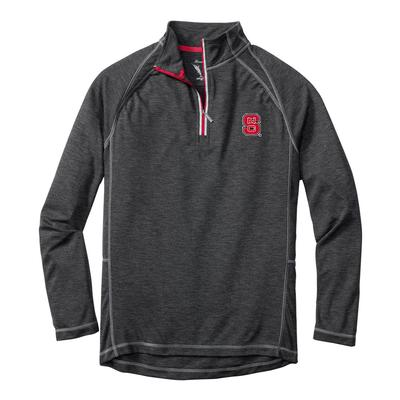 NC State Tommy Bahama Firewall Core Half Zip Pullover