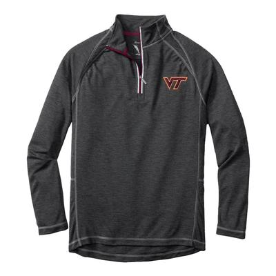 Virginia Tech Tommy Bahama Firewall Core Half Zip Pullover
