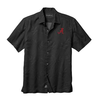 Alabama Tommy Bahama Luau Floral Core Camp Shirt