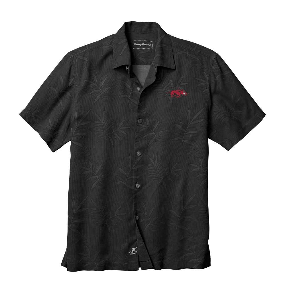 Arkansas Tommy Bahama Luau Floral Core Camp Shirt