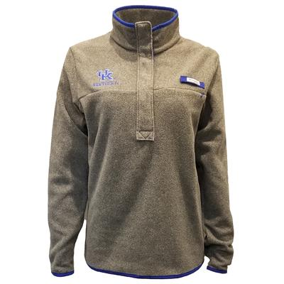 Kentucky Columbia Women's Harborside Fleece Pullover