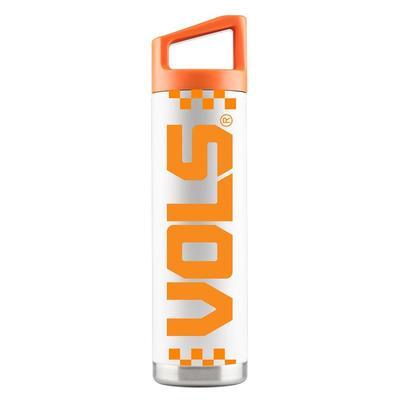 Tennessee Gametime Sidekick 22oz Steel Water Bottle