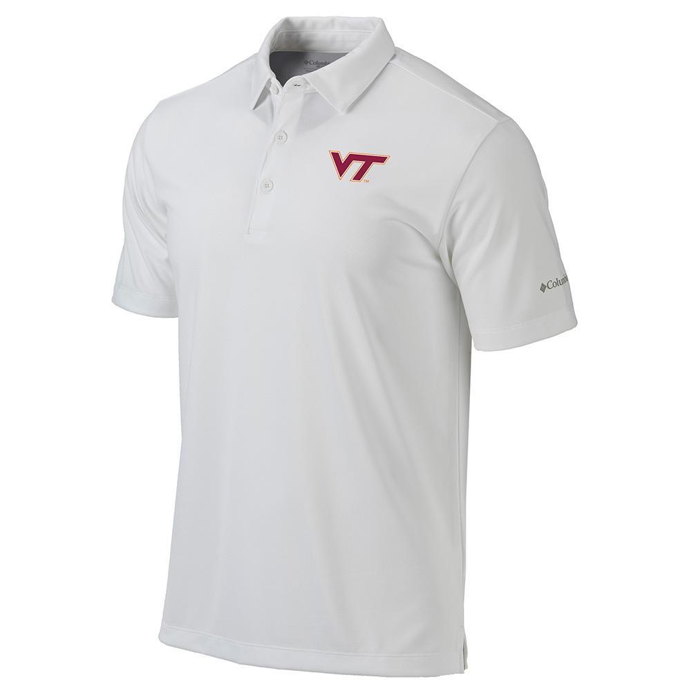 Virginia Tech Columbia Golf Drive Polo