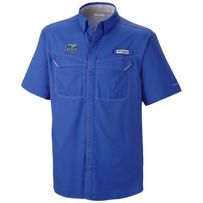 MTSU Columbia Low Drag Off Shore Short Sleeve Woven Shirt