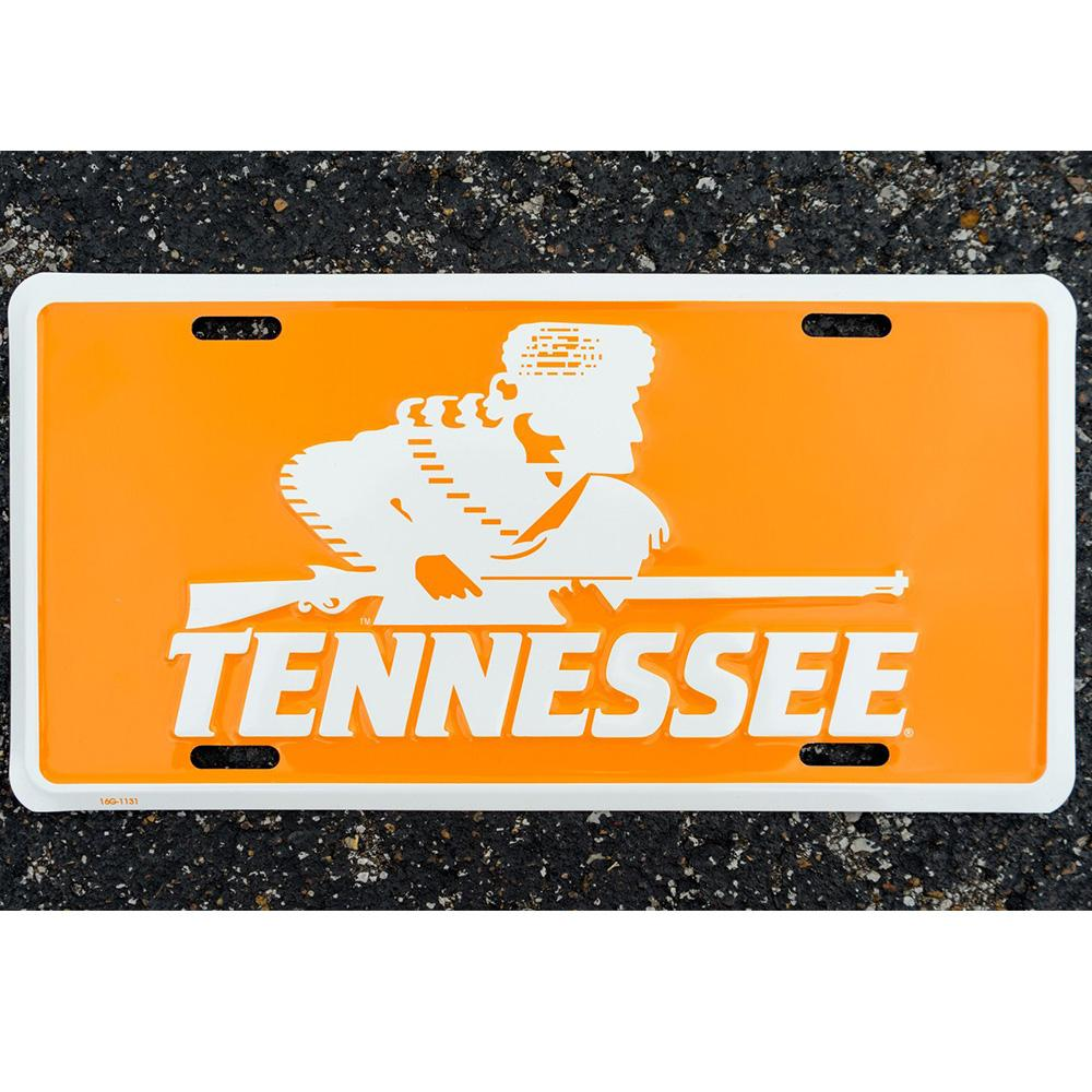 Vols - Tennessee Volunteer Traditions Rifleman License Plate