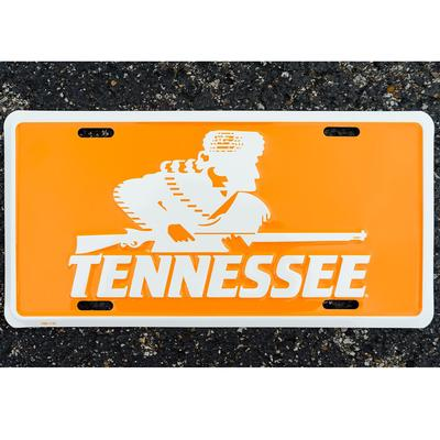 Tennessee Volunteer Traditions Rifleman License Plate