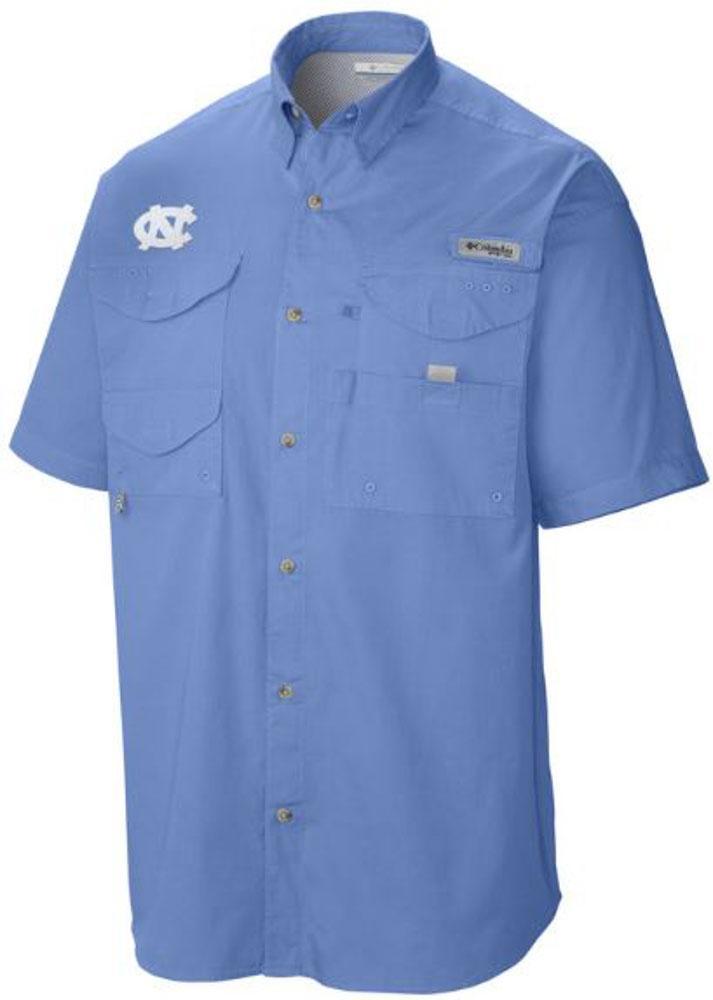 Unc Columbia Tamiami Short- Sleeve