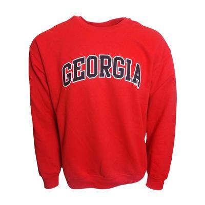 Georgia Arch Logo Crew Sweatshirt