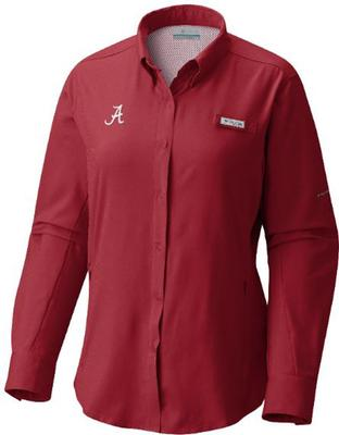 Alabama Columbia Women's Tamiami Long Sleeve Shirt