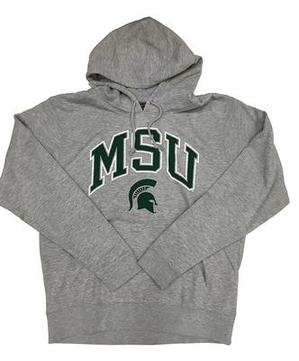 Michigan State Arch With Logo Hooded Sweatshirt
