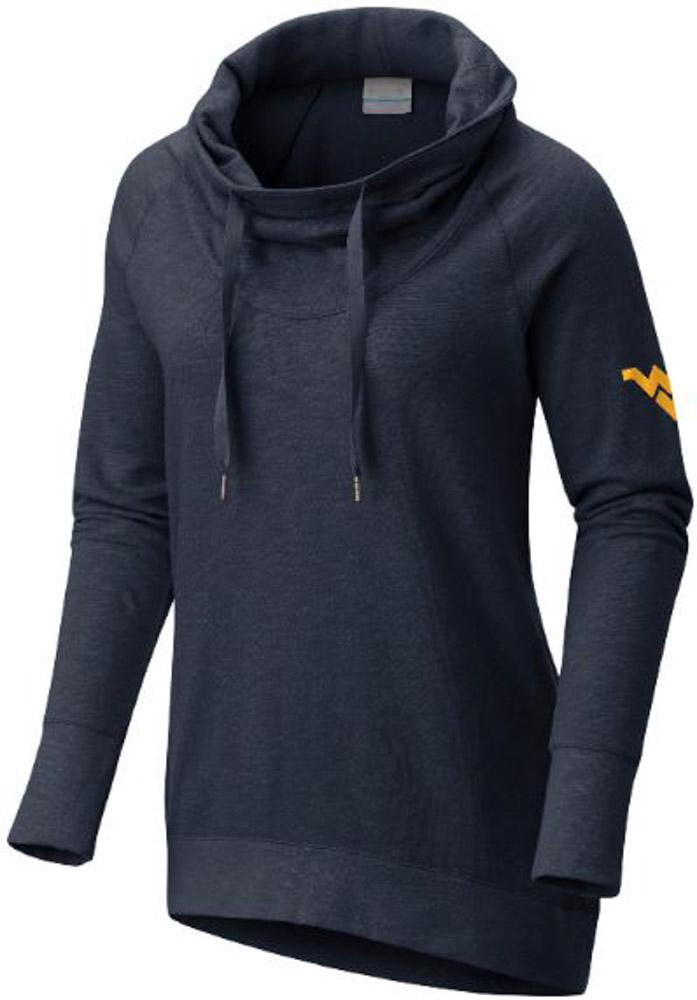 West Virginia Columbia Women's Down Time Pullover
