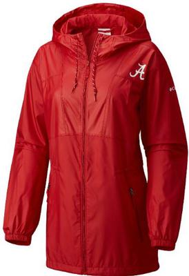 Alabama Columbia Women's Flashback Long Windbreaker