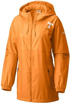 Tennessee Columbia Women's Flashback Long Windbreaker