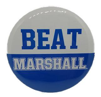 MTSU Beat Marshall Gameday Button