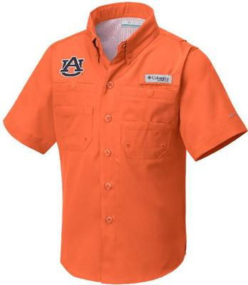 Auburn Columbia Youth Tamiami Shirt