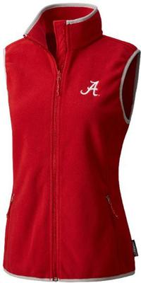 Alabama Columbia Women's Fuller Ridge Fleece Vest