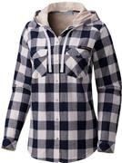 West Virginia Columbia Women's Times Two Hooded Long Sleeve Shirt