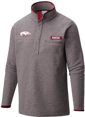 Arkansas Columbia Harborside Fleece Pullover