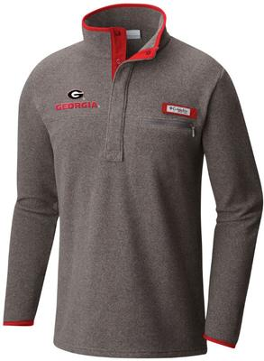 Georgia Columbia Harborside Fleece Pullover