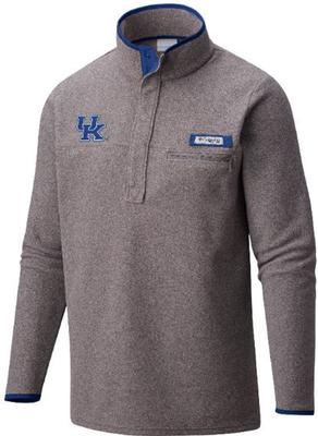 Kentucky Columbia Harborside 1/4 Zip Fleece Pullover