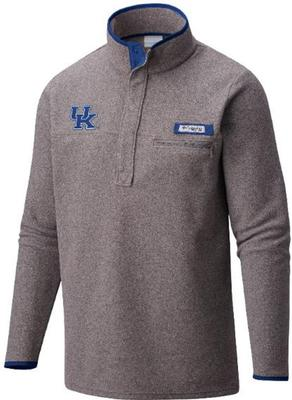 Kentucky Columbia Harborside Fleece Pullover