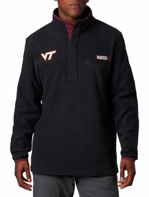Virginia Tech Columbia Harborside Fleece Pullover