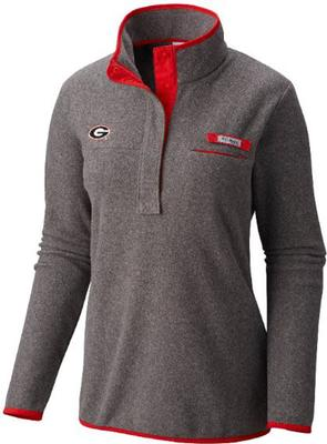 Georgia Columbia Women's Harborside Fleece Pullover