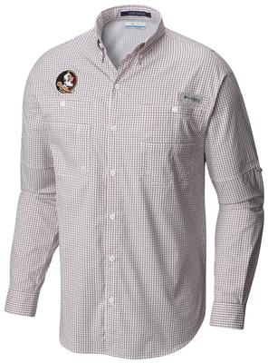 Florida State Columbia Long Sleeve Super Tamiami Woven Shirt