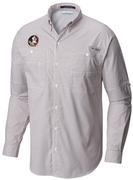 Florida State Columbia Long Sleeve Super Tamiami Woven Shirt