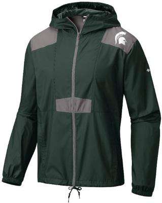 Michigan State Columbia Flashback Windbreaker