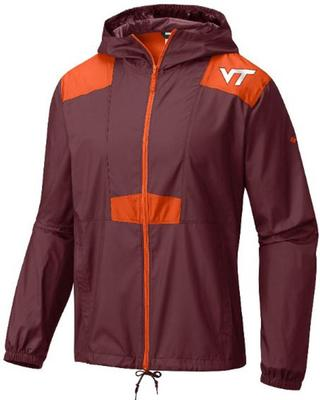 Virginia Tech Columbia Flashback Windbreaker