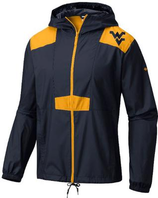 West Virginia Columbia Flashback Windbreaker